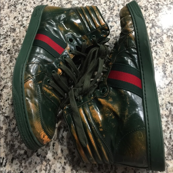 4ceca49941b Gucci Other - Men s Gucci high top sneakers shoes vintage